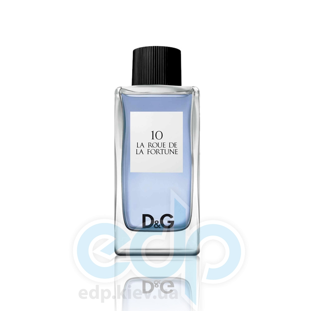 Dolce Gabbana Anthology La Roue de La Fortune 10 - туалетная вода - 100 ml TESTER